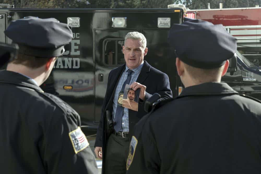 "TAKEN -- ""password"" Episode 211 -- Pictured: James Colby as McCarron -- (Photo by: Panagiotis Pantazidis/NBC)"