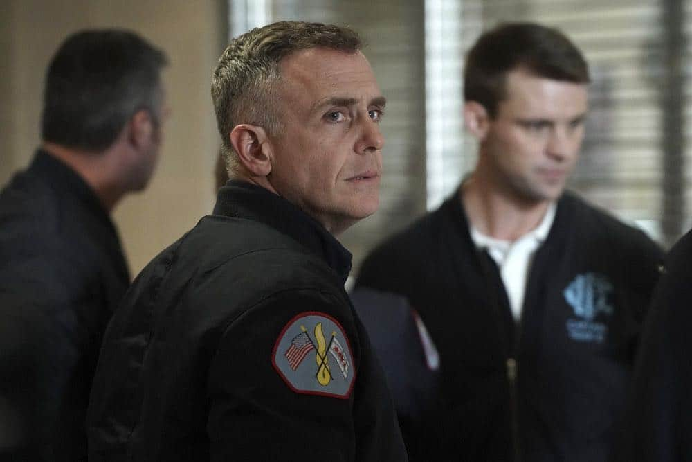 """CHICAGO FIRE -- """"When They See Us Coming"""" Episode 618 -- Pictured: David Eigenberg as Christopher Herrmann -- (Photo by: Elizabeth Morris/NBC)"""