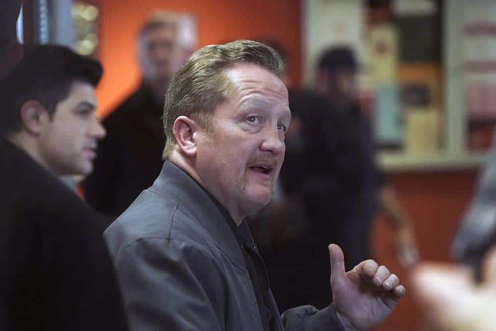 """CHICAGO FIRE -- """"When They See Us Coming"""" Episode 618 -- Pictured: Christian Stolte as Mouch -- (Photo by: Elizabeth Morris/NBC)"""