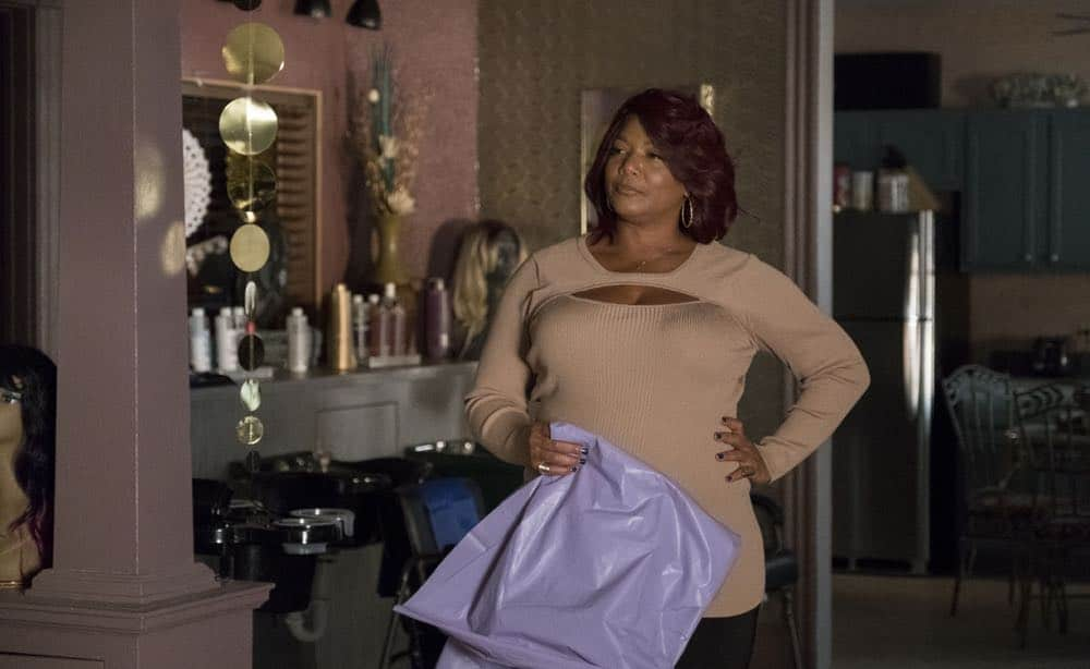 "STAR: Queen Latifah in the ""Forward (E)Motion"" episode of STAR airing Wednesday, April 18 (9:00-10:00 PM ET/PT) on FOX. ©2018 Fox Broadcasting Co. CR: Wilford Harewood/FOX"