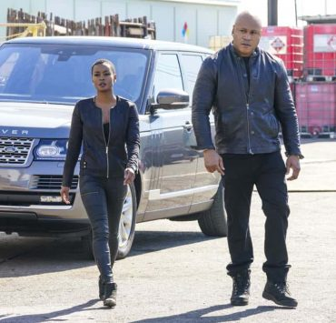 """Outside the Lines"" - Pictured: Andrea Bordeaux (NCIS Special Agent Harley Hidoko) and LL COOL J (Special Agent Sam Hanna). After a cryptocurrency farm is robbed of over $10 million in Bitcoin codes, Sam and Hidoko go undercover, with Sam resuming a likely compromised former alias, on NCIS: LOS ANGELES, Sunday, April 22 (9:00-10:00 PM, ET/PT) on the CBS Television Network Photo: Bill Inoshita/CBS ©2018 CBS Broadcasting, Inc. All Rights Reserved."