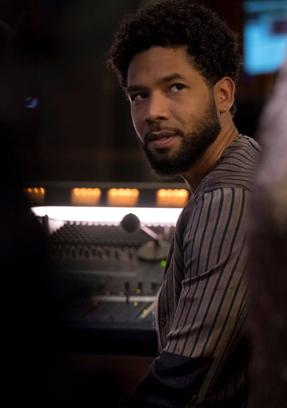 "EMPIRE: Jussie Smollett in the ""Of Hardiness Is Mother"" episode of EMPIRE airing Wednesday, April 18 (8:00-9:00 PM ET/PT) on FOX. ©2018 Fox Broadcasting Co. CR: Chuck Hodes/FOX"