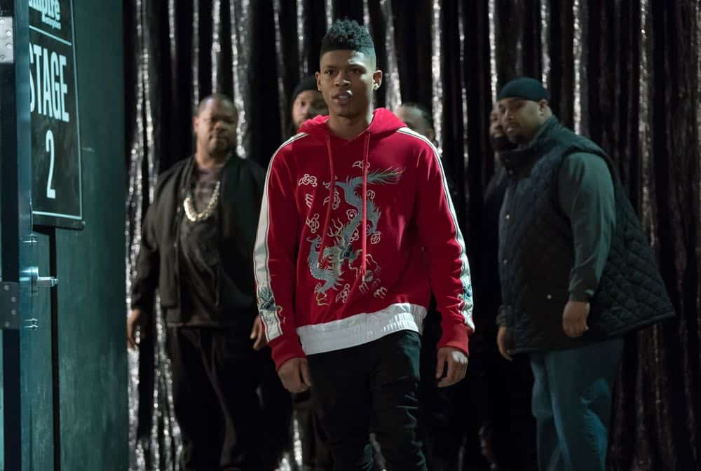 "EMPIRE: Bryshere Gray in the ""Of Hardiness Is Mother"" episode of EMPIRE airing Wednesday, April 18 (8:00-9:00 PM ET/PT) on FOX. ©2018 Fox Broadcasting Co. CR: Chuck Hodes/FOX"