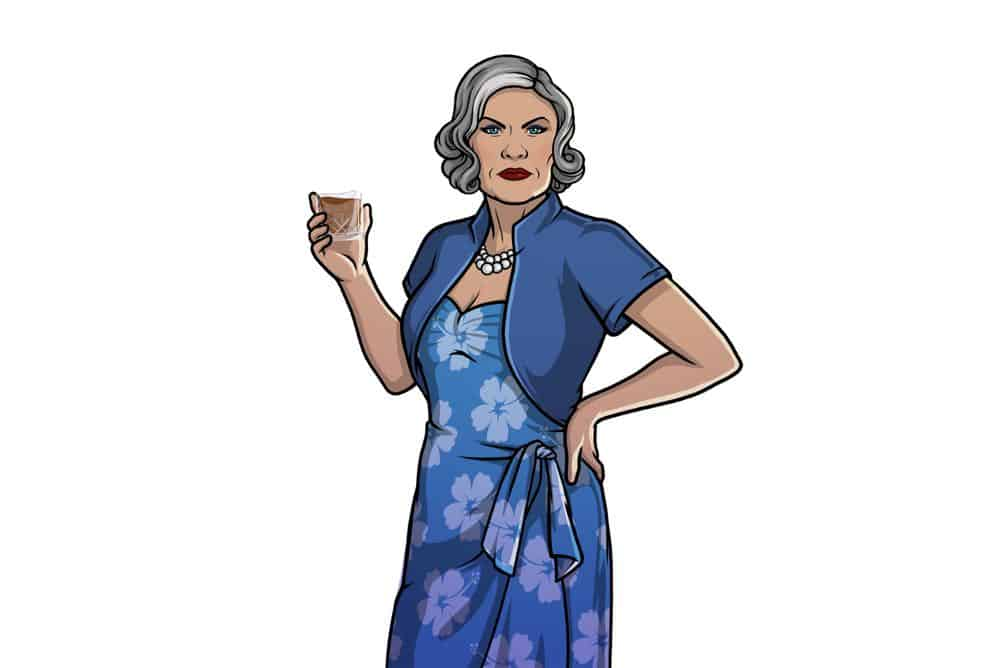 ARCHER -- Pictured: Malory Archer (voice of Jessica Walter). CR: FXX