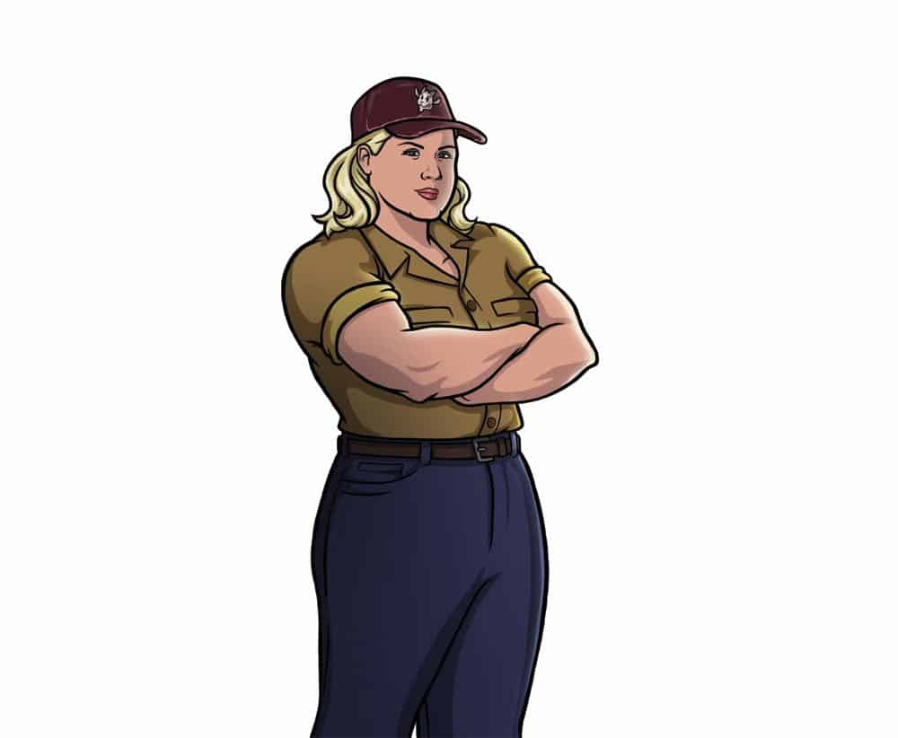 ARCHER -- Pictured: Pam Poovey (voice of Amber Nash). CR: FXX