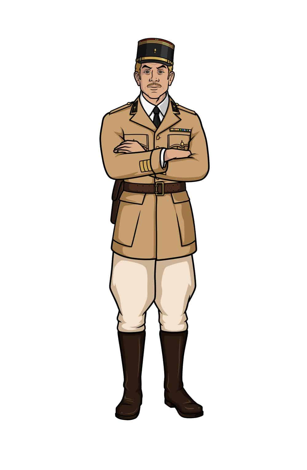 ARCHER -- Pictured: Reynaud (voice of Adam Reed). CR: FXX