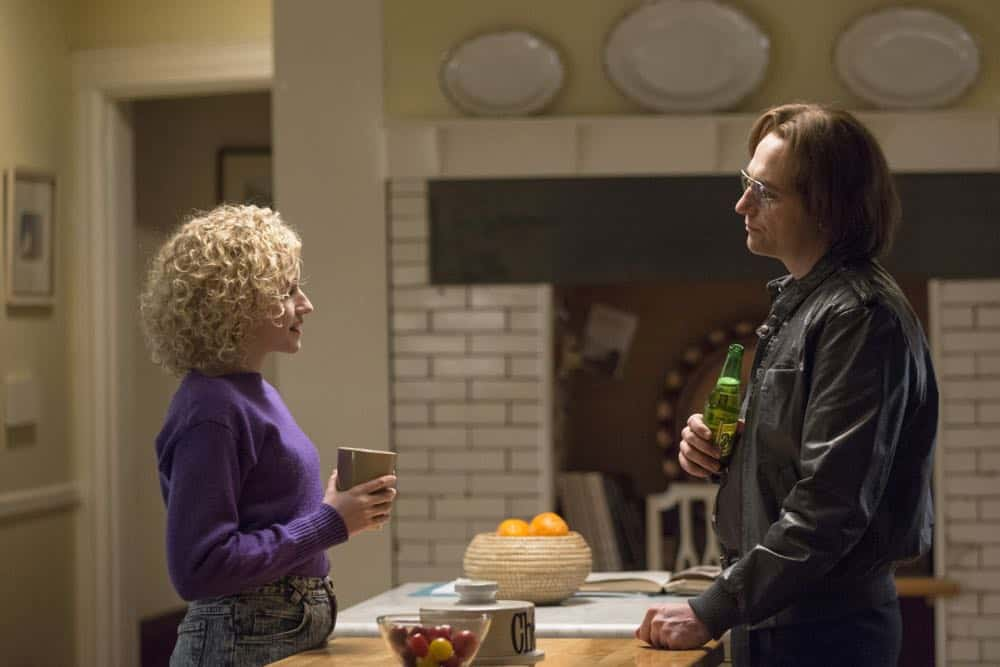 "THE AMERICANS -- ""Mr. and Mrs. Teacup"" -- Season 6, Episode 4 (Airs Wednesday, April 18, 10:00 pm/ep) -- Pictured: (l-r) Julia Garner as Kimmy, Matthew Rhys as Philip Jennings. CR: Eric Liebowitz/FX"
