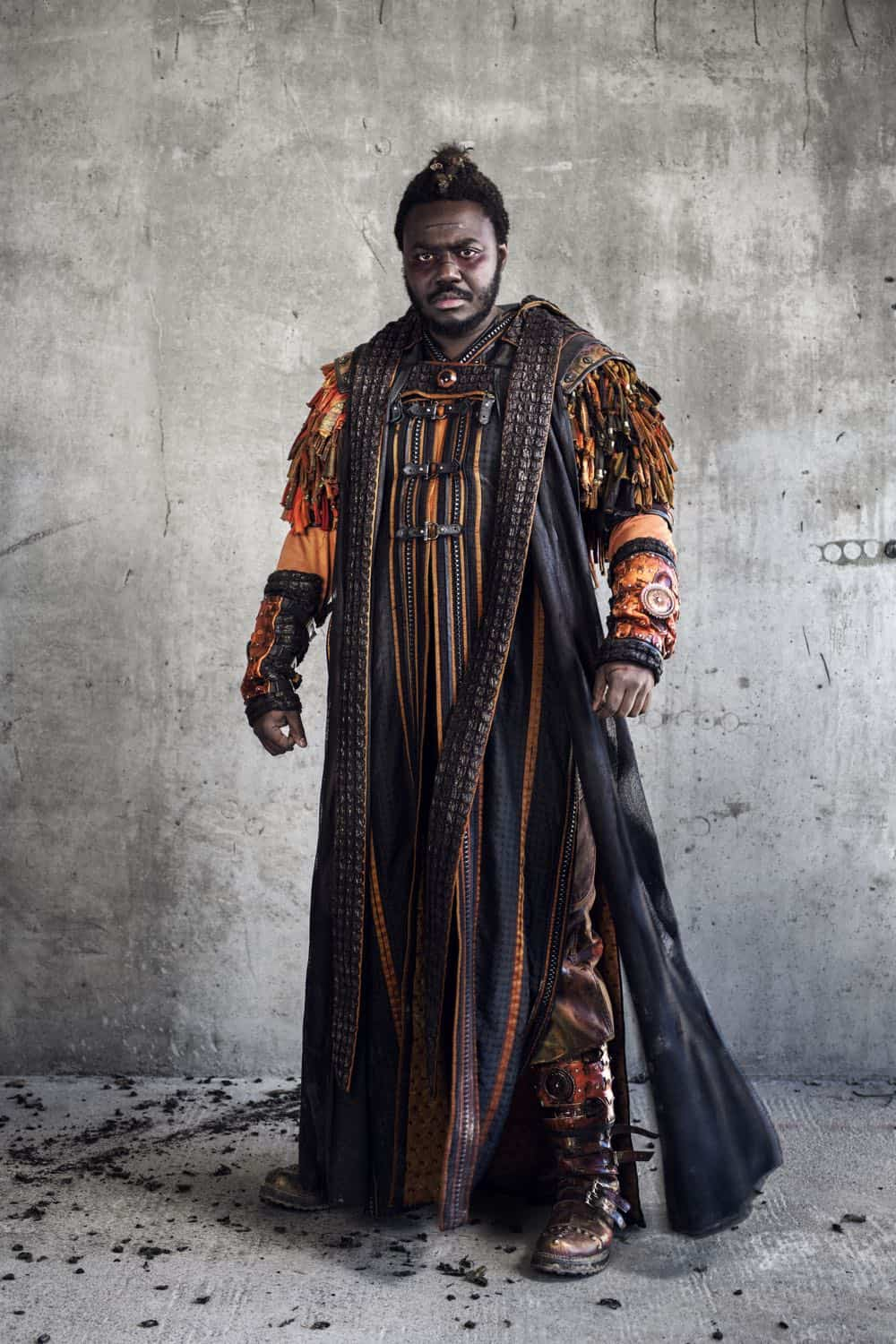 Babou Ceesay as Pilgrim - Into the Badlands _ Season 3, Gallery - Photo Credit: Alan Clarke/AMC