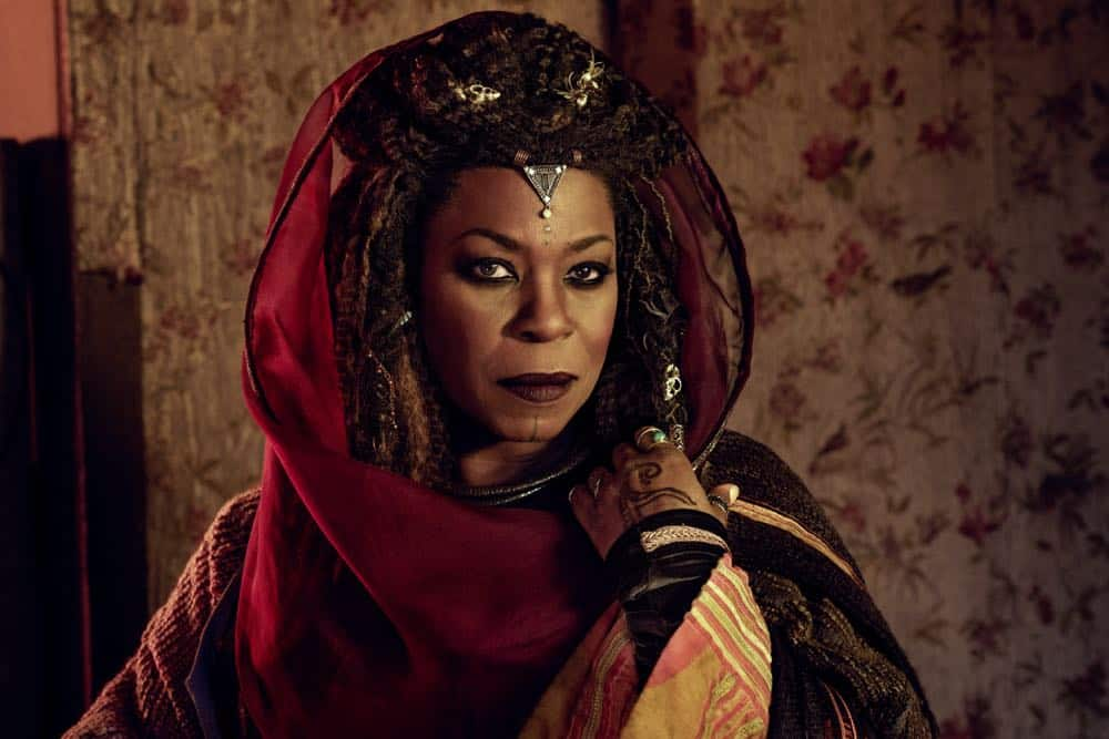 Lorraine Toussaint as Cressida - Into the Badlands _ Season 3, Gallery - Photo Credit: Alan Clarke/AMC