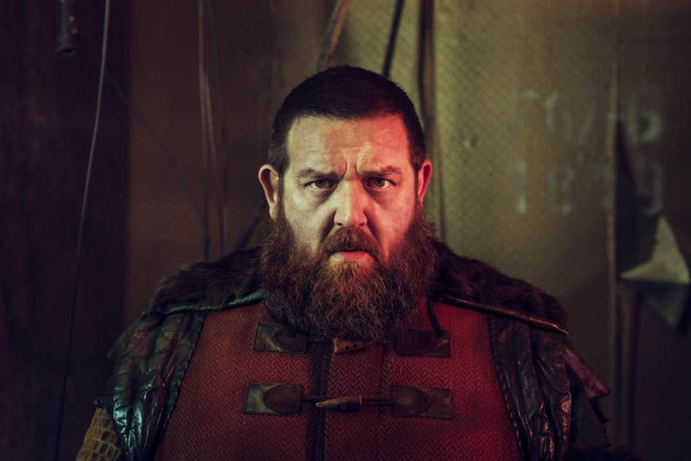 Nick Frost as Bajie - Into the Badlands _ Season 3, Gallery - Photo Credit: Alan Clarke/AMC