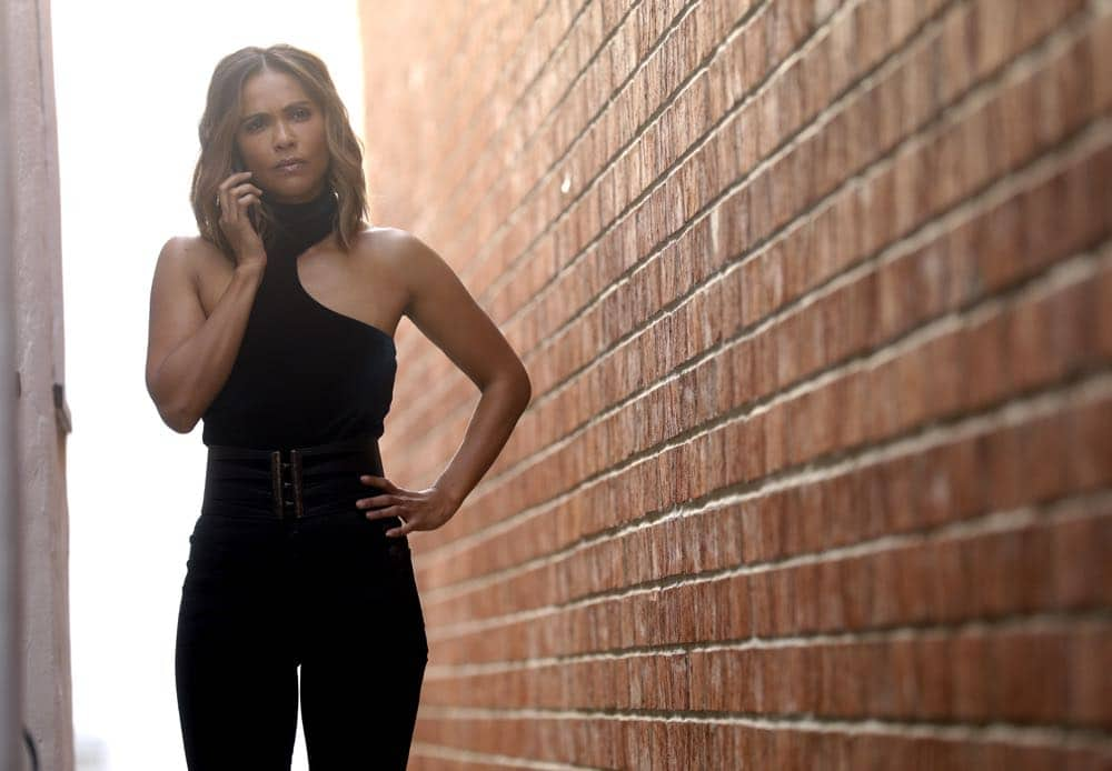 "LUCIFER: Lesley-Ann Brandt in the ""The Angel of San Bernardino"" episode of LUCIFER airing Monday, April 16 (8:00-9:00 PM ET/PT) on FOX. CR: FOX"
