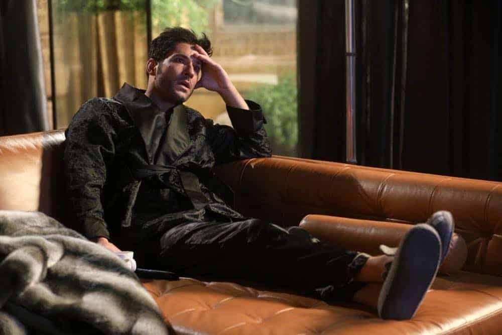 "LUCIFER: Tom Ellis in the ""The Angel of San Bernardino"" episode of LUCIFER airing Monday, April 16 (8:00-9:00 PM ET/PT) on FOX. CR: FOX"