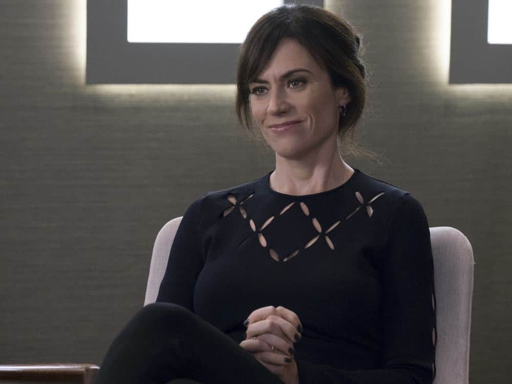 "Maggie Siff as Wendy Rhoades in BILLIONS (Season 3, Episode 04, ""Hell of a Ride""). - Photo: Jeff Neumann/SHOWTIME - Photo ID: BILLIONS_304_1530.R.jpg"