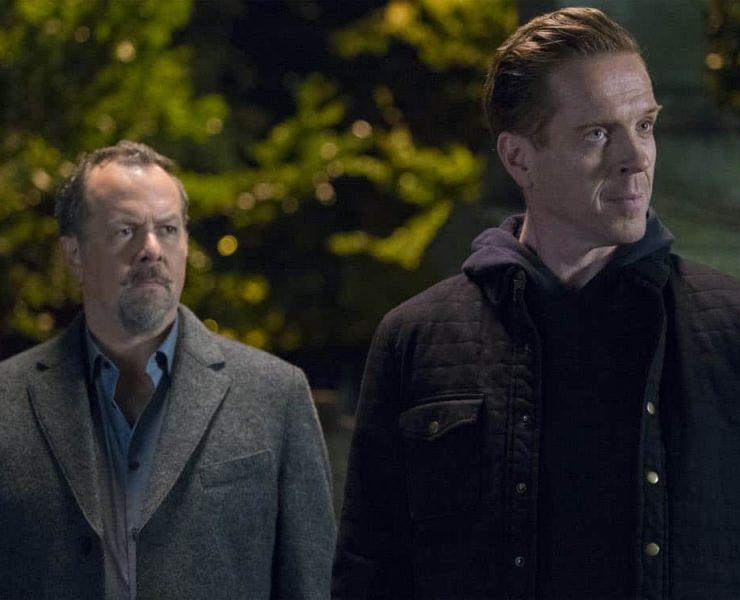 "David Costabile as Mike ""Wags"" Wagner and Damian Lewis as Bobby ""Axe"" Axelrod in BILLIONS (Season 3, Episode 04, ""Hell of a Ride""). - Photo: Jeff Neumann/SHOWTIME - Photo ID: BILLIONS_304_633.R.jpg"