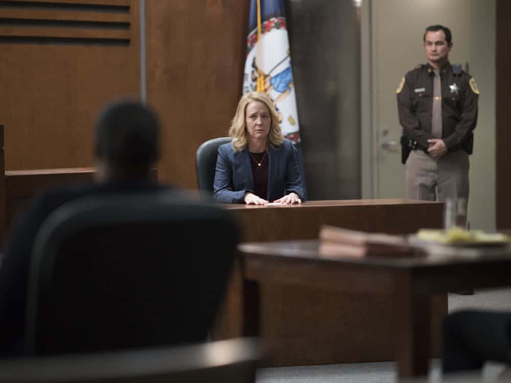 "Amy Hargreaves as Maggie in HOMELAND (Season 7, Episode 10, ""Clarity""). - Photo: Antony Platt/SHOWTIME"