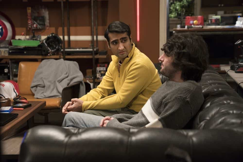 Episode 42 (season 5, episode 4), debut 4/15/18: Kumail Najiani, Armen Weitzman. photo: Ali Paige Goldstein/HBO