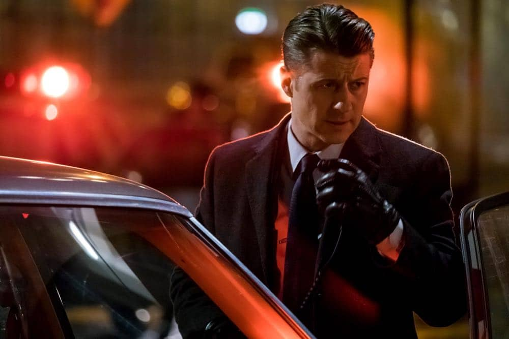 "GOTHAM: Ben McKenzie in the ""A Dark Knight: To Our Deaths and Beyond"" episode of GOTHAM airing Thursday, April 19 (8:00-9:00 PM ET/PT) on FOX. ©2018 Fox Broadcasting Co. Cr: FOX"