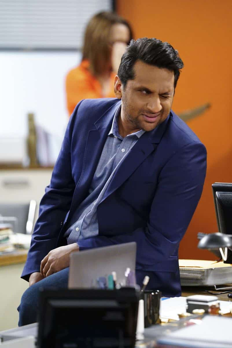 ÒShow HospitalityÓ Ð Chip and LeslieÕs patience is tested when they invite Rabbi Gil to stay with them after he discovers his wife is having an affair, on LIVING BIBLICALLY, Monday, April 16 (9:30-10:00PM, ET/PT) on the CBS Television Network. Pictured: Ravi Patel as Doug Photo: Sonja Flemming/CBS ©2017 CBS Broadcasting, Inc. All Rights Reserved