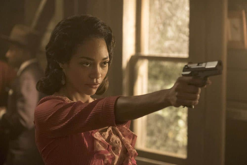 """TIMELESS -- """"King of Delta Blues"""" Episode 206 -- Pictured: Natasha Marc as Betty -- (Photo by: Justin Lubin/NBC)"""
