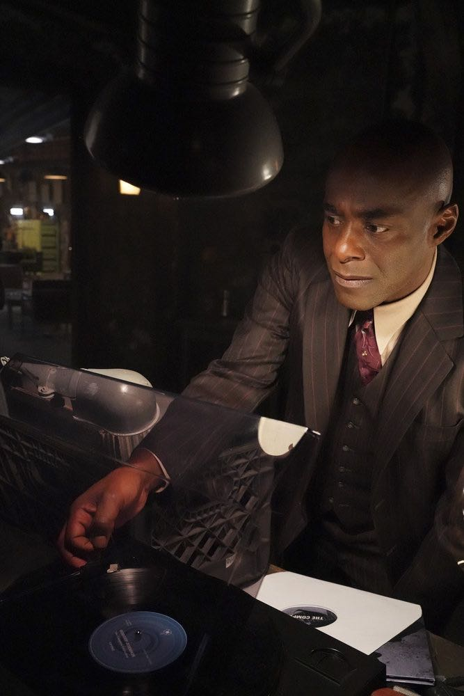 """TIMELESS -- """"King of the Delta Blues"""" Episode 206 -- Pictured: Paterson Joseph as Connor Mason -- (Photo by: Evans Vestal Ward/NBC)"""