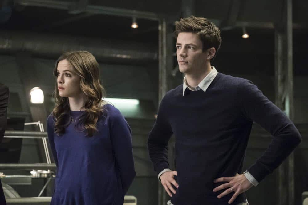 """The Flash -- """"Lose Yourself"""" -- Image Number: FLA418a_0111b.jpg -- Pictured (L-R): Danielle Panabaker as Caitlin Snow and Grant Gustin as Barry Allen -- Photo: Katie Yu/The CW -- © 2018 The CW Network, LLC. All rights reserved"""