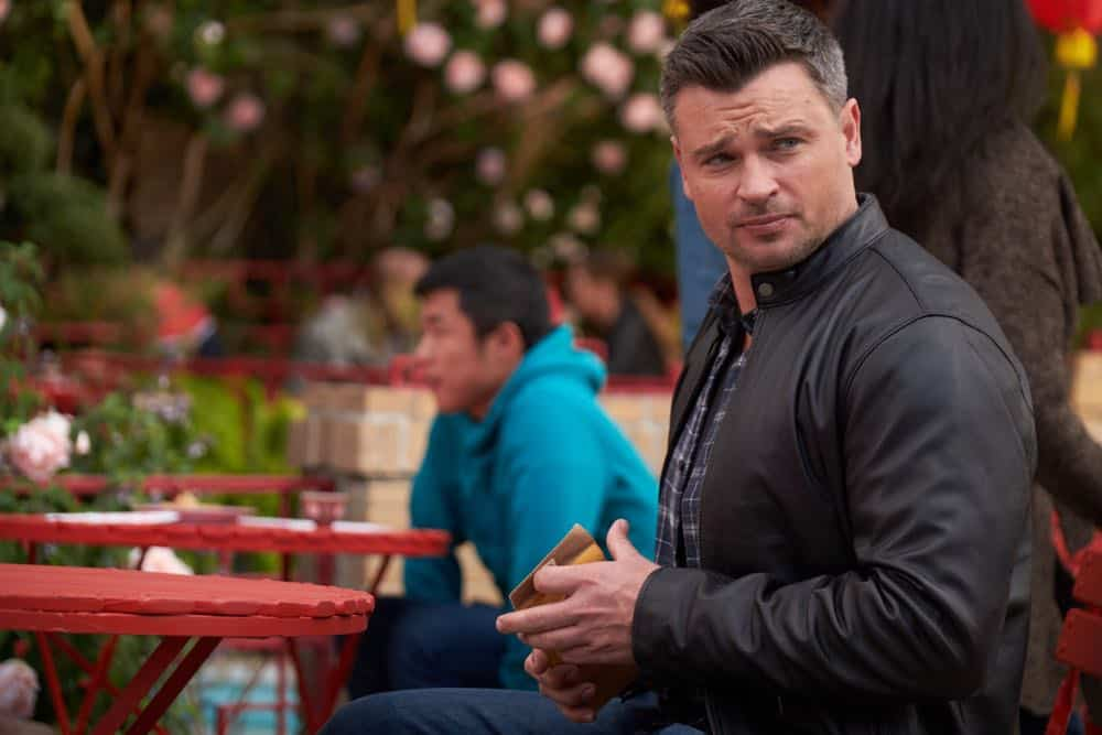 "LUCIFER: Tom Welling in the ""Anything Pierce Can Do I Can Do Better"" episode of LUCIFER airing Monday, April 23 (8:00-9:00 PM ET/PT) on FOX. CR: FOX"
