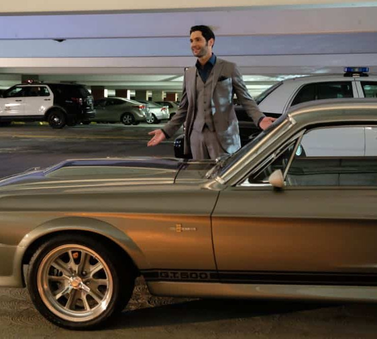 """LUCIFER: Tom Ellis in the """"Anything Pierce Can Do I Can Do Better"""" episode of LUCIFER airingMonday, April 23 (8:00-9:00 PM ET/PT) on FOX. CR: FOX"""