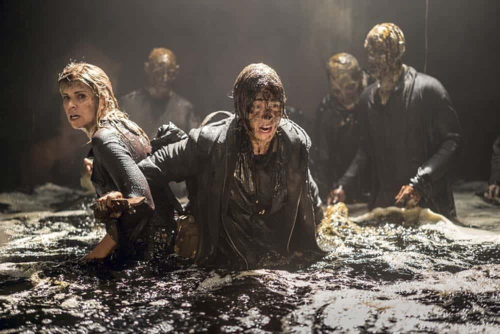 Jenna Elfman as Naomi, Kim Dickens as Madison Clark - Fear the Walking Dead _ Season 4, Episode 2 - Photo Credit: Richard Foreman, Jr/AMC