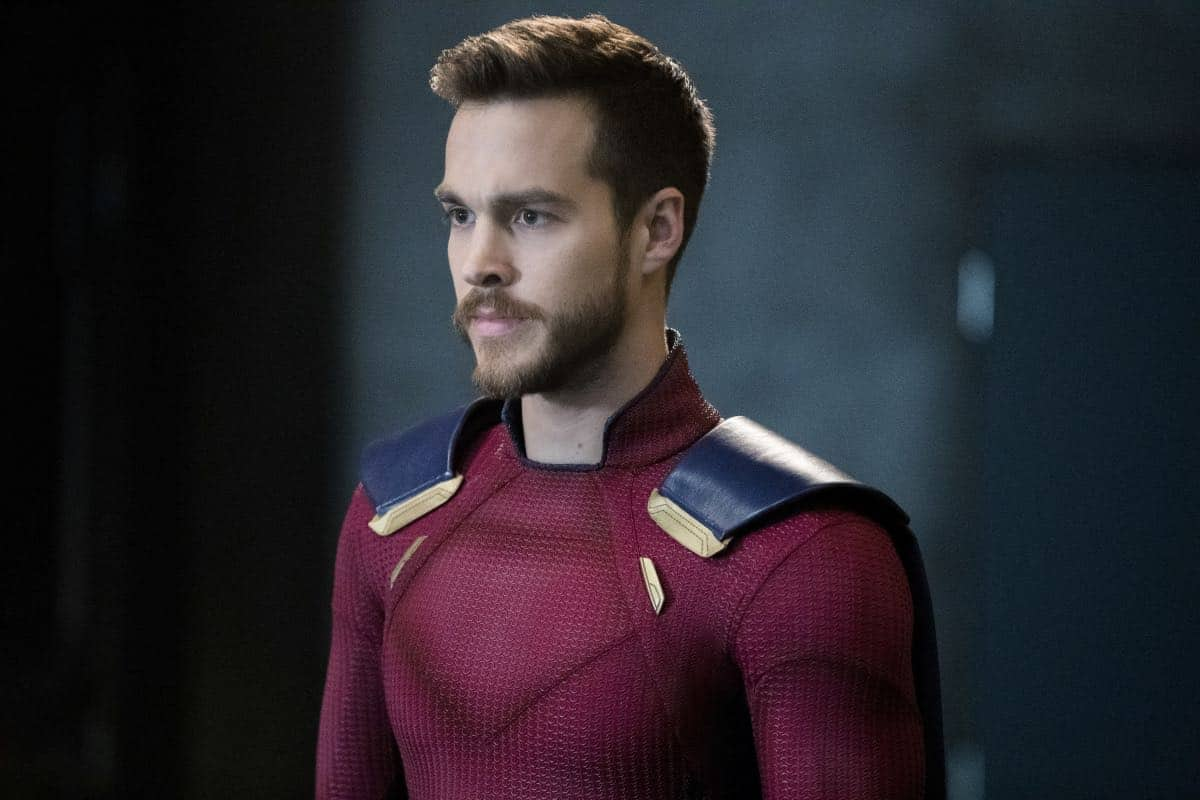 """Supergirl -- """"In Search of Lost Time"""" -- Image Number: SPG315b_0123.jpg -- Pictured: Chris Wood as Mon-El -- Photo: Jack Rowand/The CW -- © 2018 The CW Network, LLC. All Rights Reserved."""