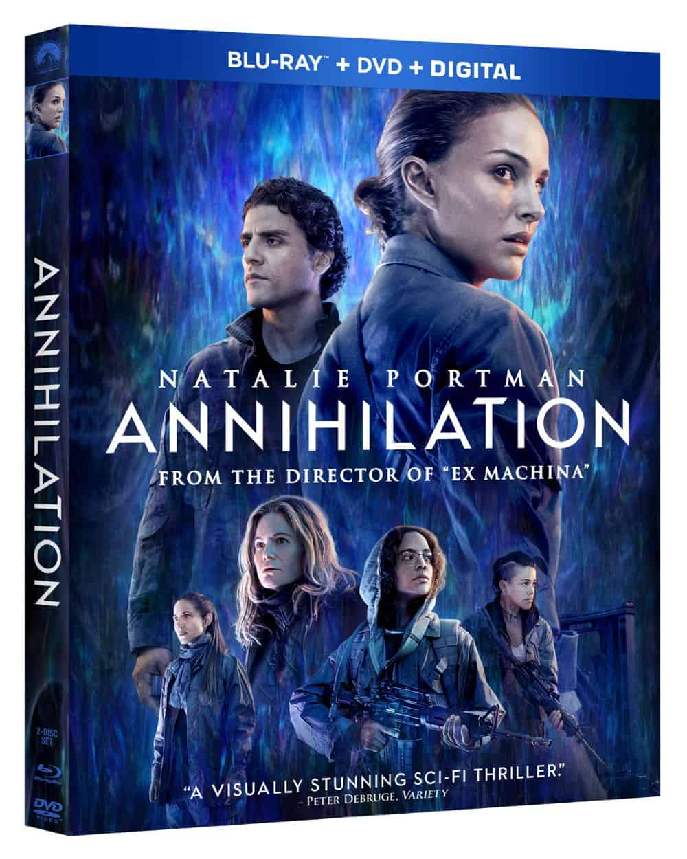 ANNIHILATION Blu-ray + DVD + Digital Cover