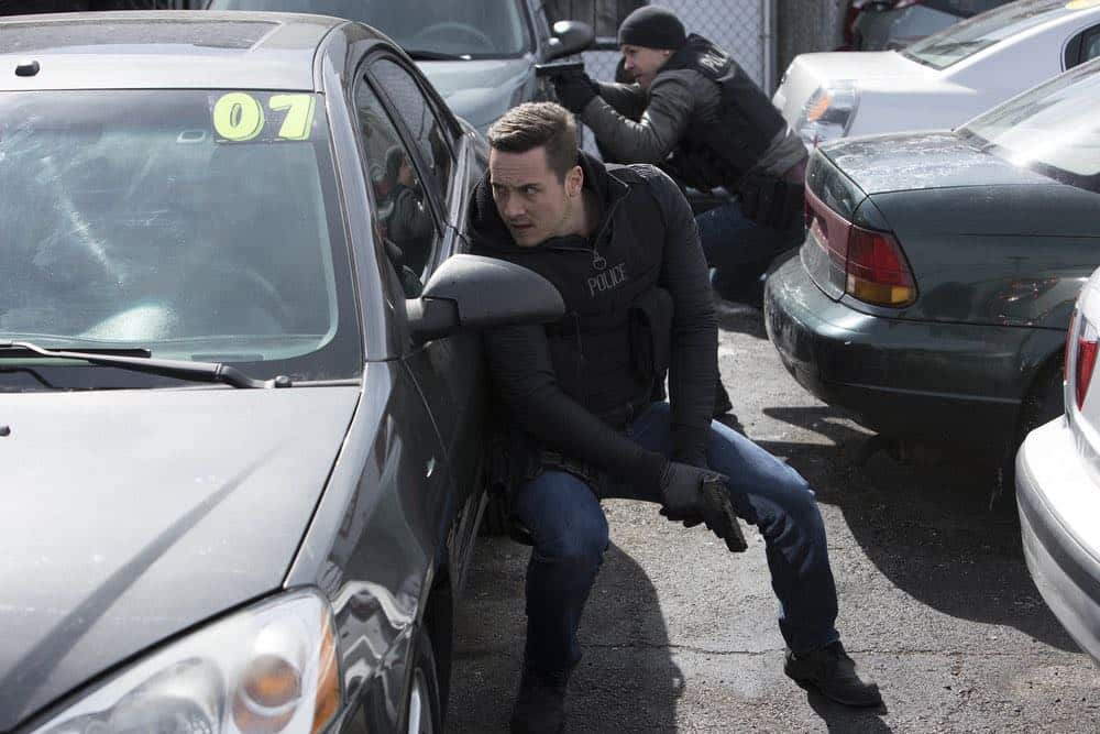"CHICAGO P.D. -- ""Saved"" Episode 520 -- Pictured: Jesse Lee Soffer as Jay Halstead -- (Photo by: Adrian Burrows/NBC)"