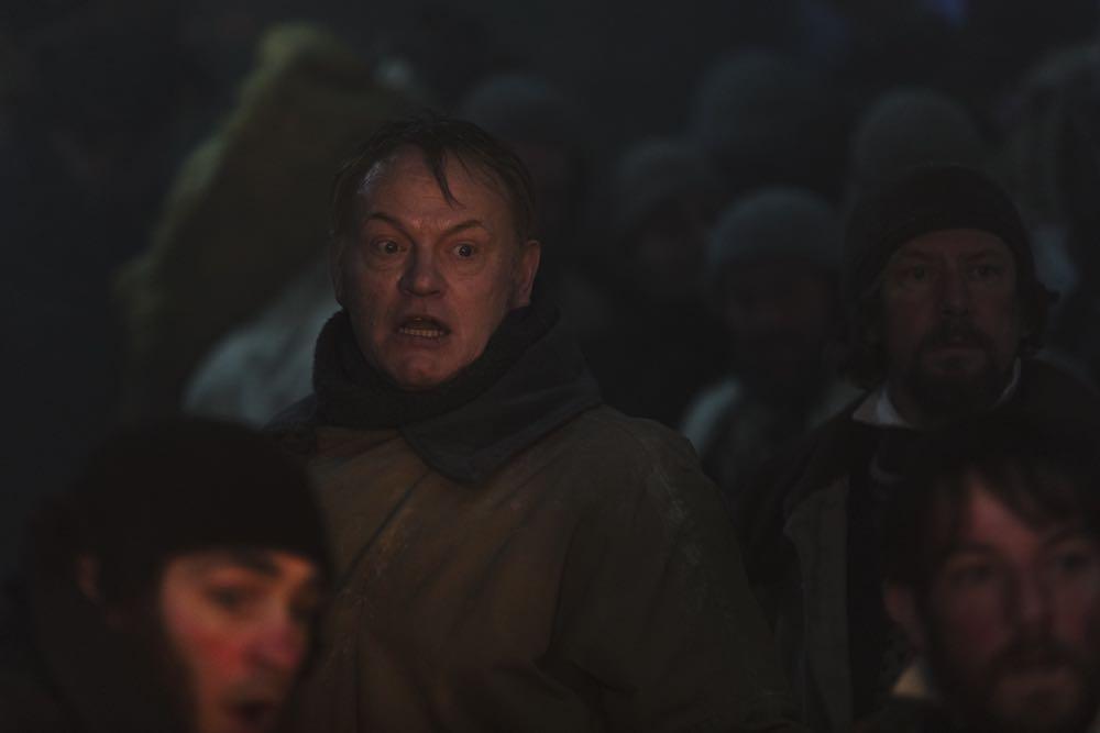 Jared Harris as Francis Crozier, Ian Hart as Thomas Blanky- The Terror _ Season 1, Episode 6 - Photo Credit: Aidan Monaghan/AMC