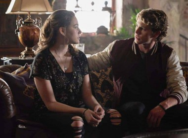 """The Originals -- """"One Wrong Turn on Bourbon"""" -- Image Number: OR502A_0139b.jpg -- Pictured (L-R): Jedidiah Goodacre as Roman and Danielle Rose Russell as Hope -- Photo: Bob Mahoney/The CW -- © 2018 The CW Network, LLC. All rights reserved."""