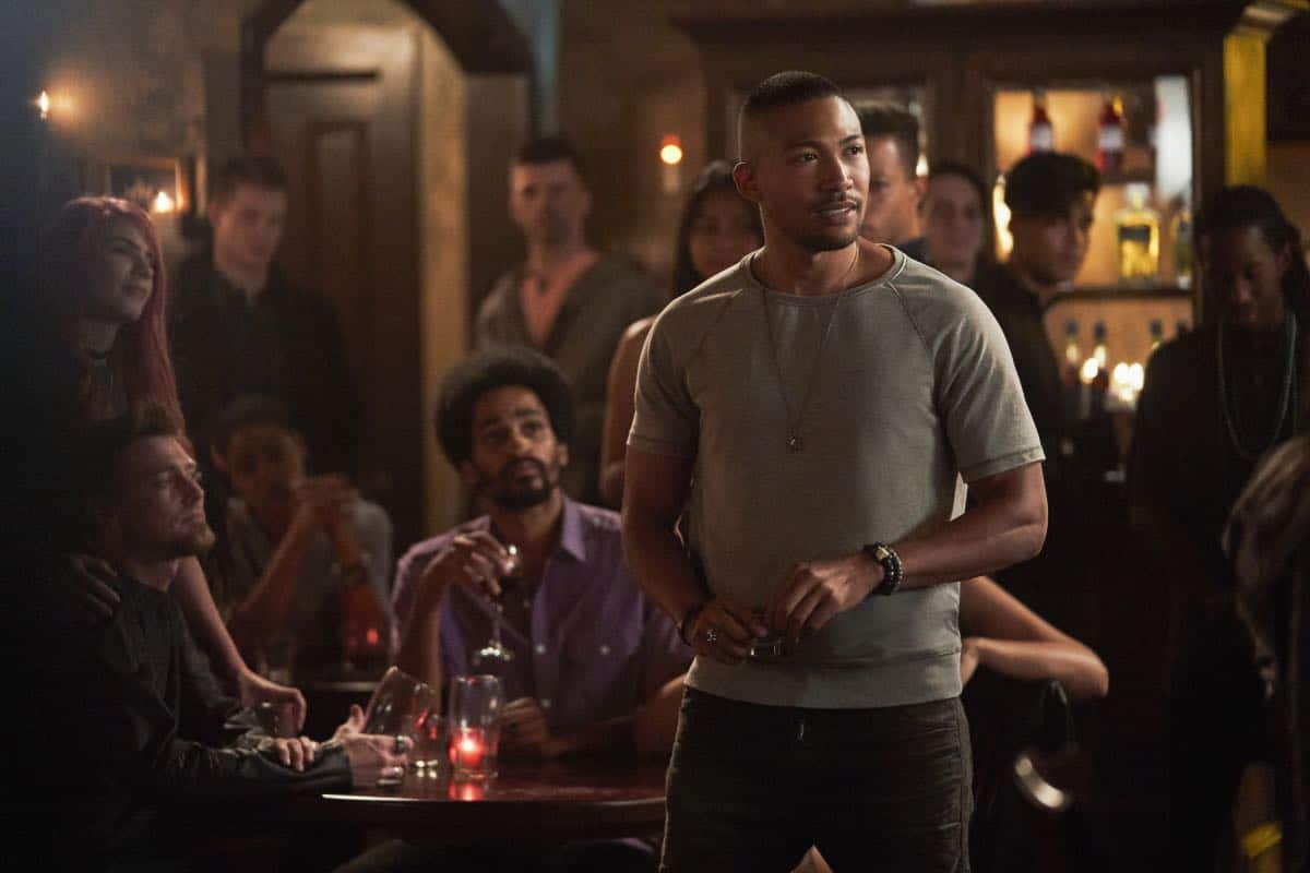 "The Originals -- ""One Wrong Turn on Bourbon"" -- Image Number: OR502B_0211b.jpg -- Pictured: Charles Michael Davis as Marcel -- Photo: Bob Mahoney/The CW -- © 2018 The CW Network, LLC. All rights reserved."