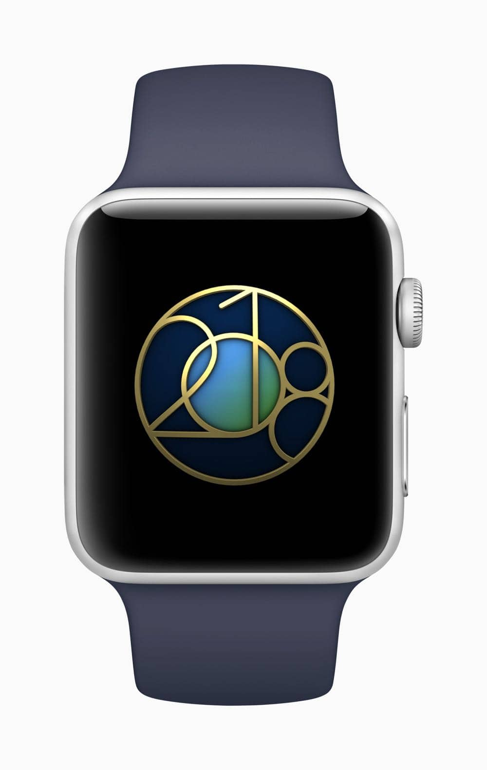 Apple Watch earth day badge 04192018