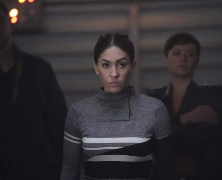 "MARVEL'S AGENTS OF S.H.I.E.L.D. - ""Option Two"" - The team finds themselves trapped and under siege at the Lighthouse, on ""Marvel's Agents of S.H.I.E.L.D.,"" FRIDAY, APRIL 27 (9:01-10:01 p.m. EDT), on The ABC Television Network. (ABC/Mitch Haaseth) NATALIA CORDOVA-BUCKLEY"