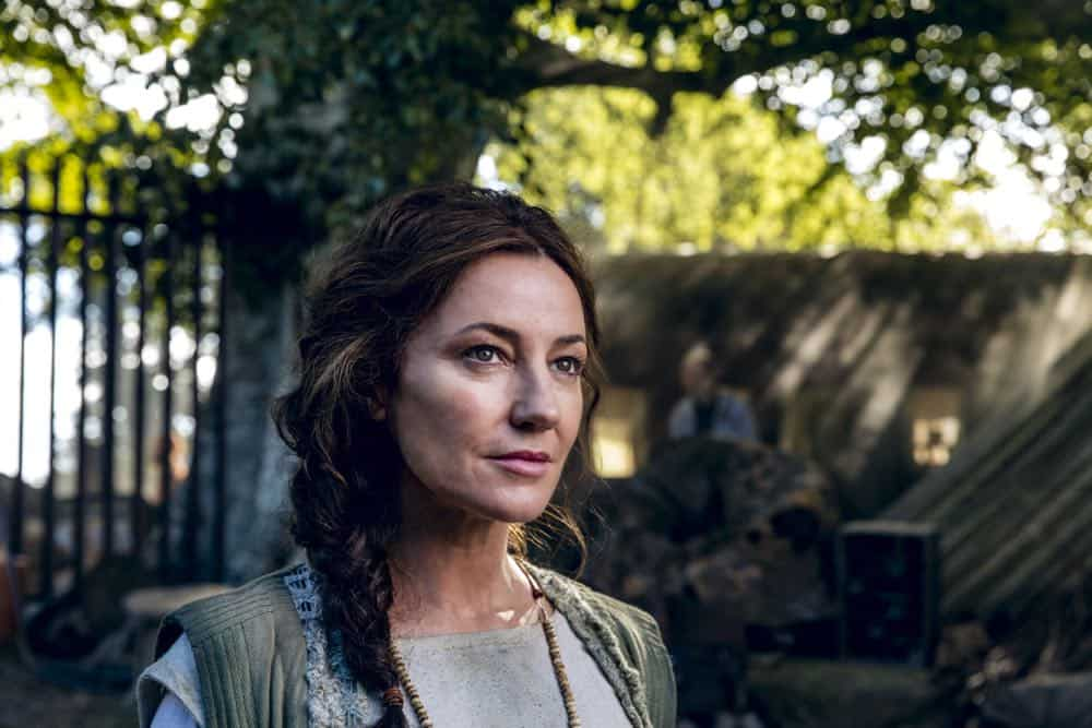 Orla Brady as Lydia - Into the Badlands _ Season 3, Episode 1 - Photo Credit: Aidan Monaghan/AMC