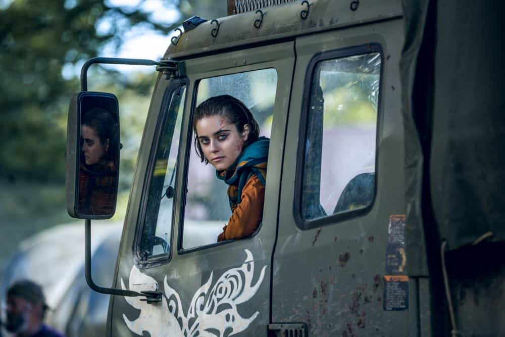 Ally Ioannides as Tilda - Into the Badlands _ Season 3, Episode 1 - Photo Credit: Aidan Monaghan/AMCAlly Ioannides as Tilda - Into the Badlands _ Season 3, Episode 1 - Photo Credit: Aidan Monaghan/AMC