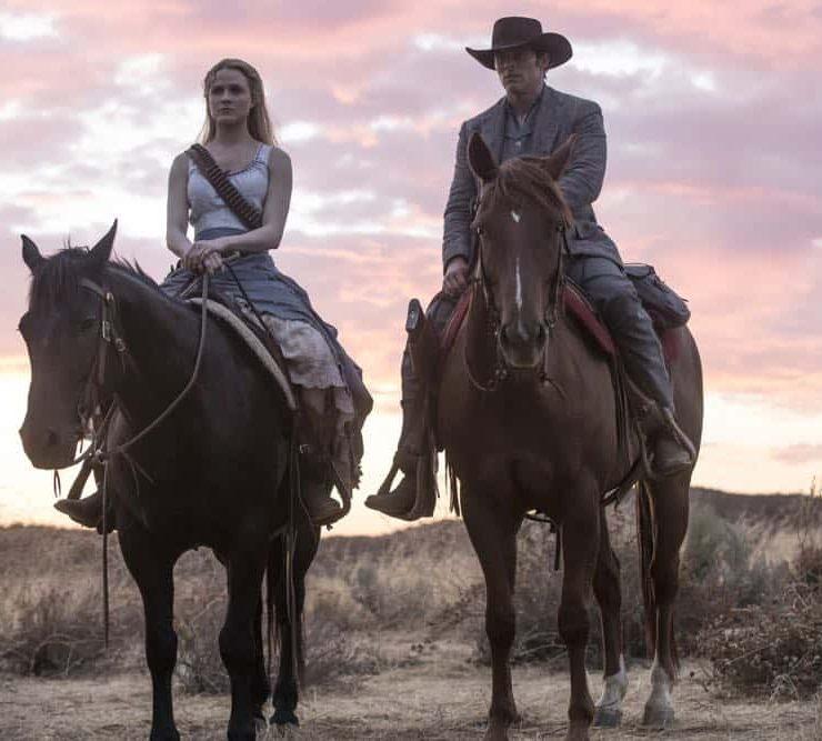 Episode 12 (season 2, episode 2), debut 4/29/18: Evan Rachel Wood, James Marsden. photo: John P. Johnson/HBO