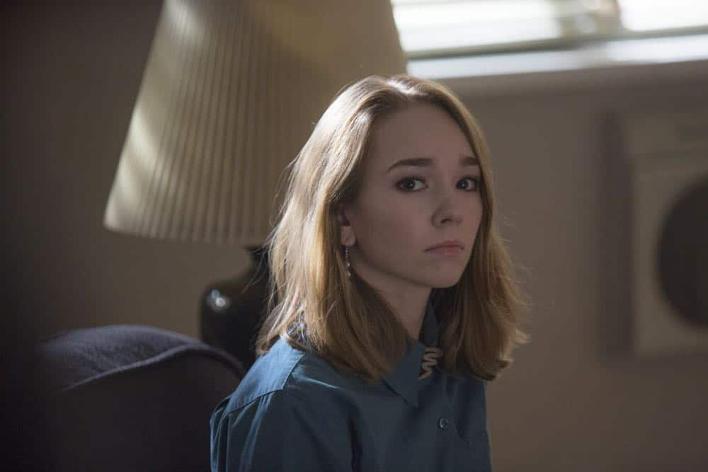 "THE AMERICANS -- ""The Great Patriotic War"" -- Season 6, Episode 5 (Airs Wednesday, April 25, 10:00 pm/ep) -- Pictured: Holly Taylor as Paige Jennings. CR: Eric Liebowitz/FX"