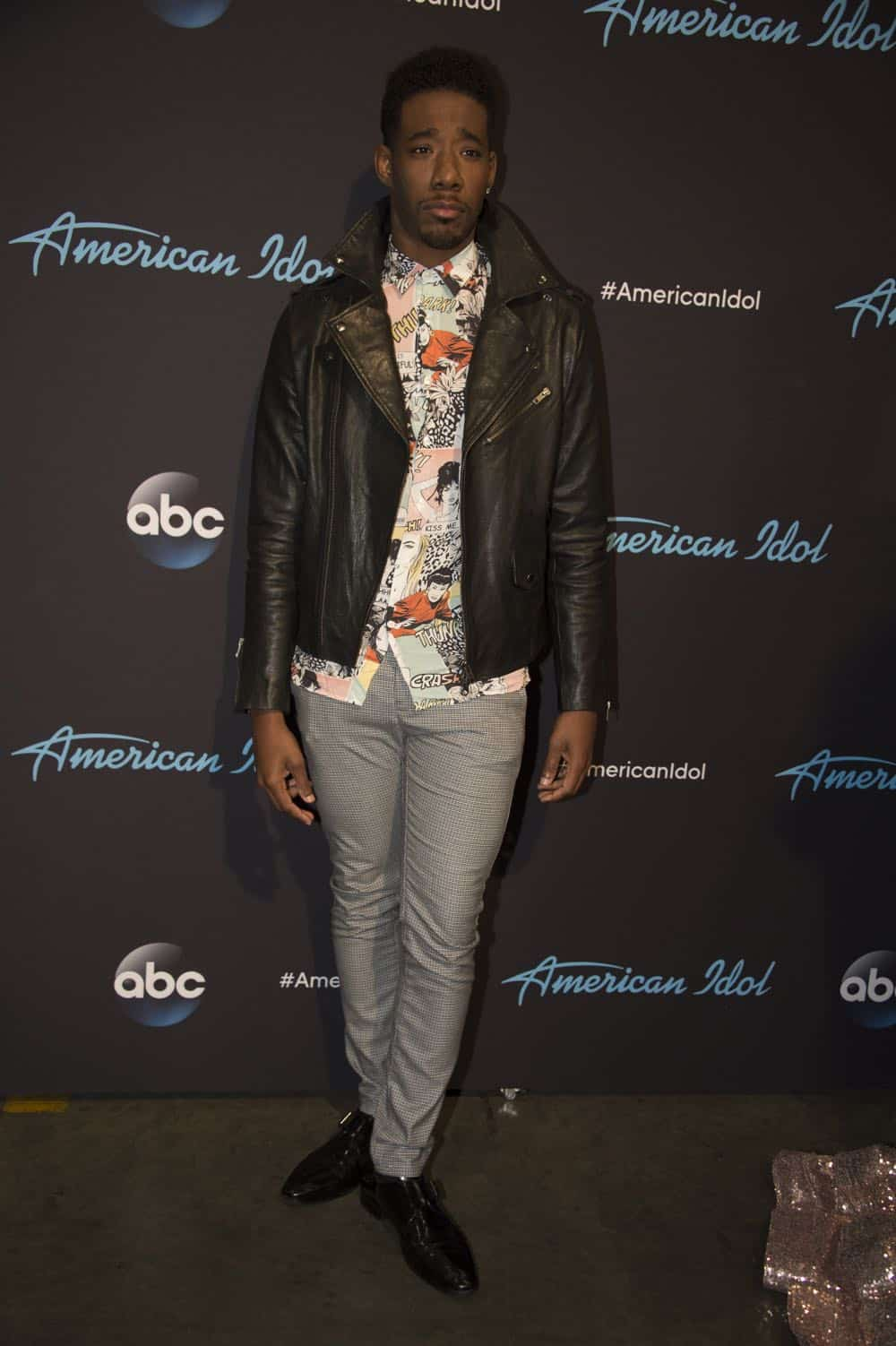 "AMERICAN IDOL - ""114 (Top 10 Reveal)"" - America's votes are in and live shows begin, as the top 14 contestants perform and the top 10 finalists are revealed, as the search for America's next superstar continues on its new home on America's network, The ABC Television Network, MONDAY, APRIL 23 (8:00-10:00 p.m. EDT). (ABC/Eric McCandless) MARCIO DONALDSON"