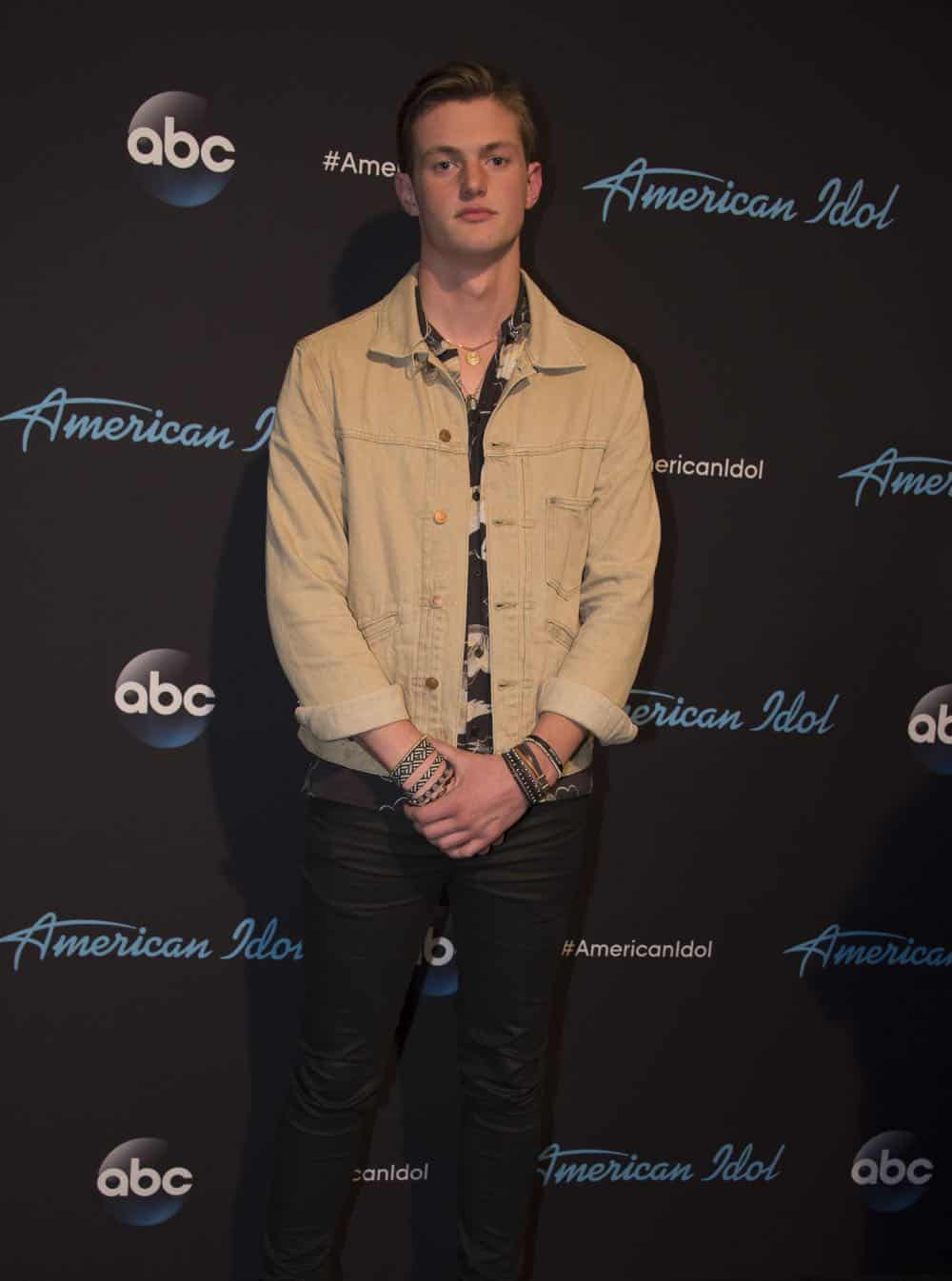 "AMERICAN IDOL - ""114 (Top 10 Reveal)"" - America's votes are in and live shows begin, as the top 14 contestants perform and the top 10 finalists are revealed, as the search for America's next superstar continues on its new home on America's network, The ABC Television Network, MONDAY, APRIL 23 (8:00-10:00 p.m. EDT). (ABC/Eric McCandless) JONYY BRENNS"