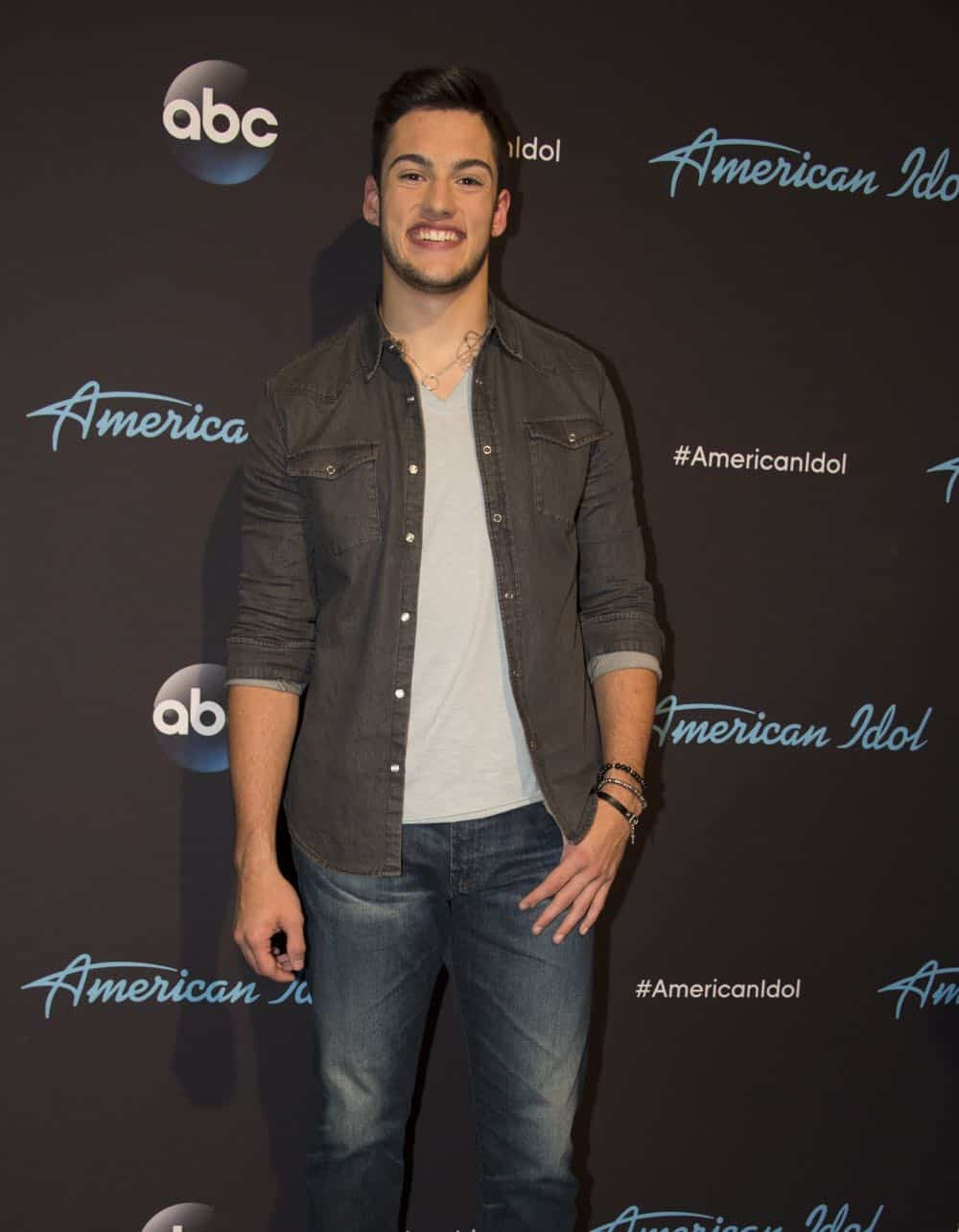 "AMERICAN IDOL - ""114 (Top 10 Reveal)"" - America's votes are in and live shows begin, as the top 14 contestants perform and the top 10 finalists are revealed, as the search for America's next superstar continues on its new home on America's network, The ABC Television Network, MONDAY, APRIL 23 (8:00-10:00 p.m. EDT). (ABC/Eric McCandless) GARRETT JACOBS"