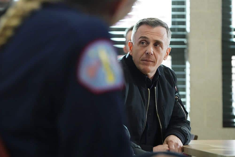 "CHICAGO FIRE -- ""The Strongest Among Us"" Episode 620 -- Pictured: David Eigenberg as Christopher Herrmann -- (Photo by: Elizabeth Morris/NBC)"