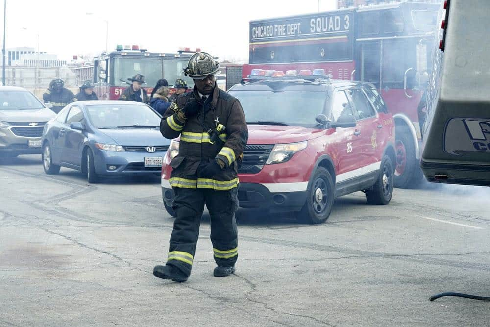"CHICAGO FIRE -- ""The Strongest Among Us"" Episode 620 -- Pictured: Eamonn Walker as Wallace Boden -- (Photo by: Elizabeth Morris/NBC)"