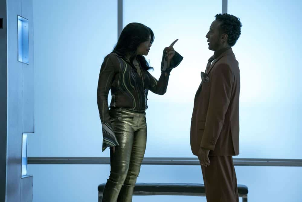 "EMPIRE: L-R: Taraji P. Henson and Andre Royo in the ""False Face"" episode of EMPIRE airing Wednesday, April 25 (8:00-9:00 PM ET/PT) on FOX. CR: Fox Broadcasting Co. CR: Chuck Hodes"