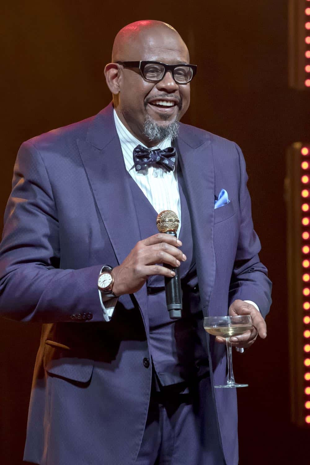 "EMPIRE: Guest star Forest Whitaker in the ""False Face"" episode of EMPIRE airing Wednesday, April 25 (8:00-9:00 PM ET/PT) on FOX. CR: Fox Broadcasting Co. CR: Chuck Hodes"