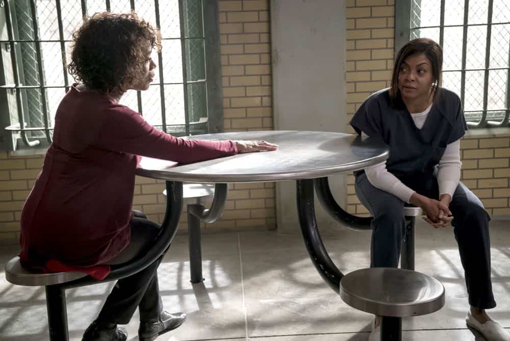 "EMPIRE: L-R: Guest star Alfre Woodard and Taraji P. Henson in the ""False Face"" episode of EMPIRE airing Wednesday, April 25 (8:00-9:00 PM ET/PT) on FOX. CR: Fox Broadcasting Co. CR: Chuck Hodes"