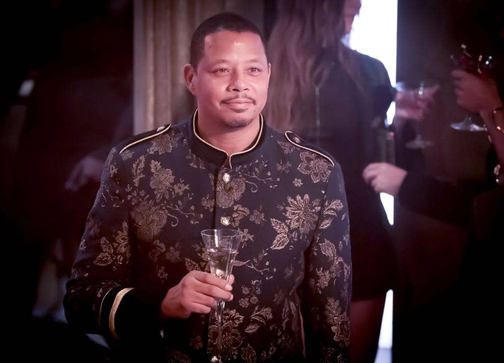 "EMPIRE: Terrence Howard in the ""False Face"" episode of EMPIRE airing Wednesday, April 25 (8:00-9:00 PM ET/PT) on FOX. CR: Fox Broadcasting Co. CR: Chuck Hodes"