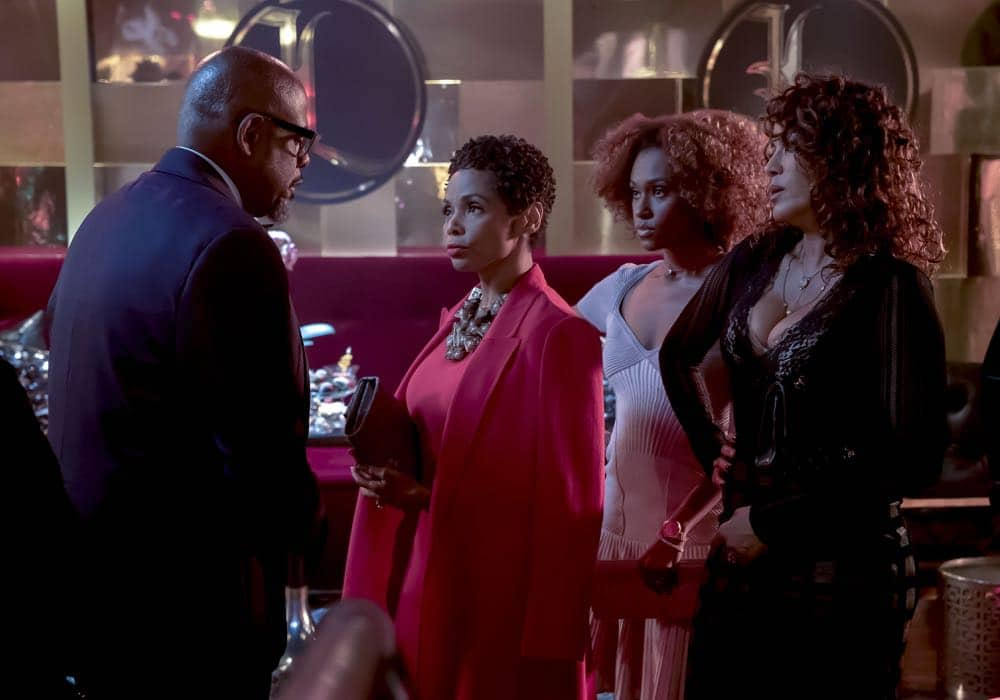 "EMPIRE: Guest star Forest Whitaker (L) in the ""False Face"" episode of EMPIRE airing Wednesday, April 25 (8:00-9:00 PM ET/PT) on FOX. CR: Fox Broadcasting Co. CR: Chuck Hodes"